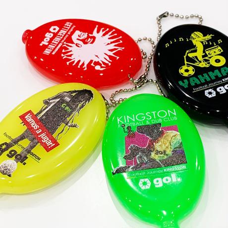 4色ラバーコインケース<KINGSTON>