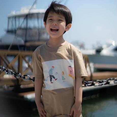 [限定クリアファイルプレゼント]Jr.Tシャツ<Vovô e filhos>(G192-817J)