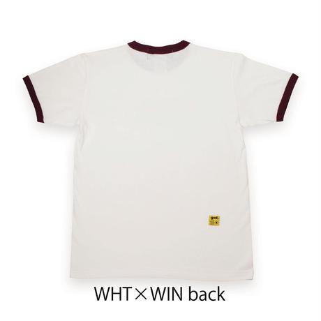 リンガーTシャツ<PORTUGOL>(G192-794)