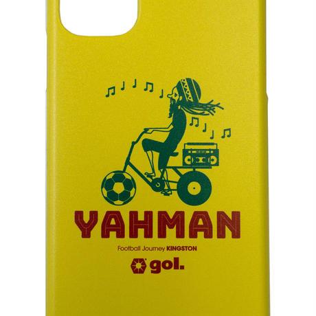 <Yahman>セミオーダースマホケース YEL(ハードタイプ)(G086-609)