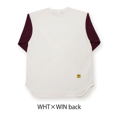 3/4袖丈Tシャツ<SHAN>(G192-804)