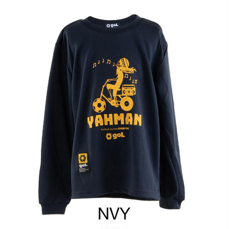 Jr.長袖ドライシャツ<Yahman>(G091-777J)