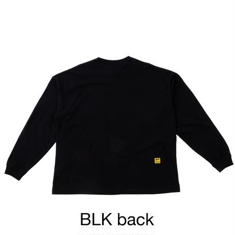 ルーズサイズ長袖Tシャツ<Basic>(G191-825)