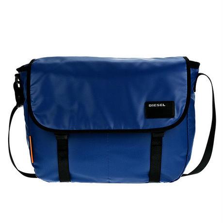 ディーゼル DIESEL メンズ ショルダーバッグ X04814-P1157-T6050 ブルー 送料無料