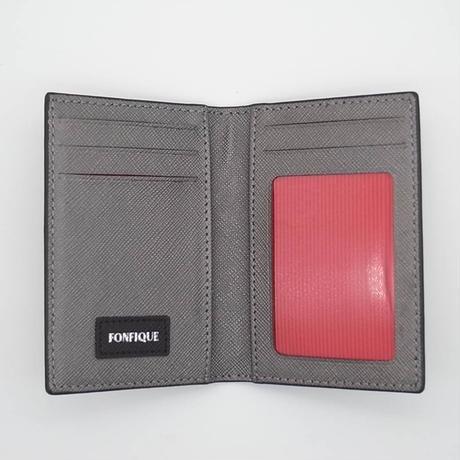 【FONFIQUE】Flamingo Black カードケース