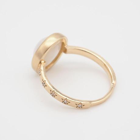 【bohem】 当店限定!10th Anniversary Ring 貝パール