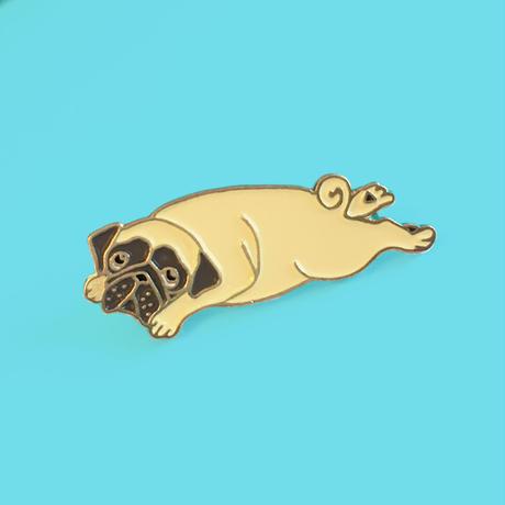 Pug ピンブローチ from Paris