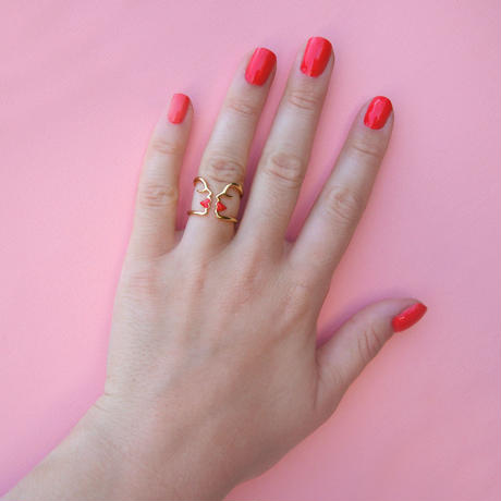 Kiss Ring from Paris