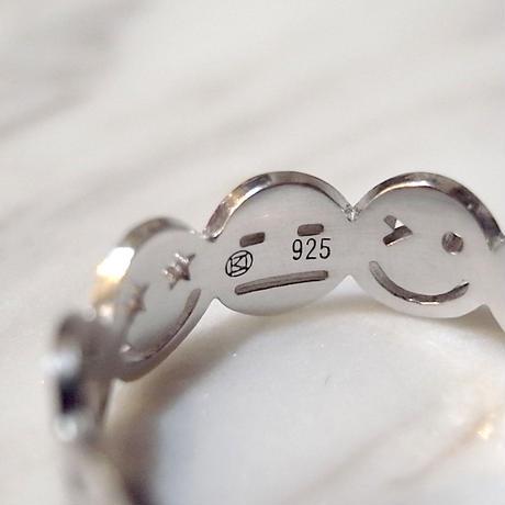 【KOMI】10 smiles ring シルバー Lサイズ