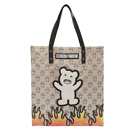 【SIMEON FARRAR】PVC BEAR FABRIC BAG