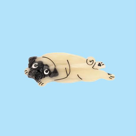 Pug ヘアクリップ from Paris