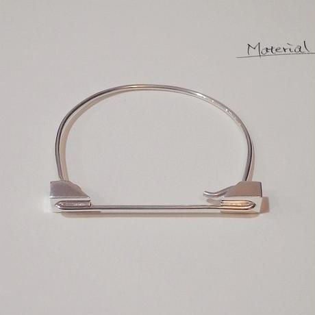 【Vibe Harsloef】 Bracelet BIG シルバー