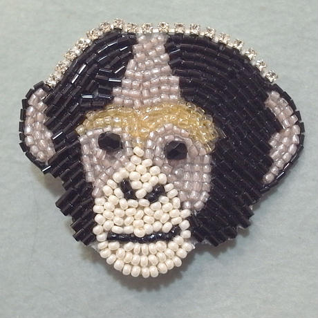 【marianne batlle】 MONKEY WITH STRASS
