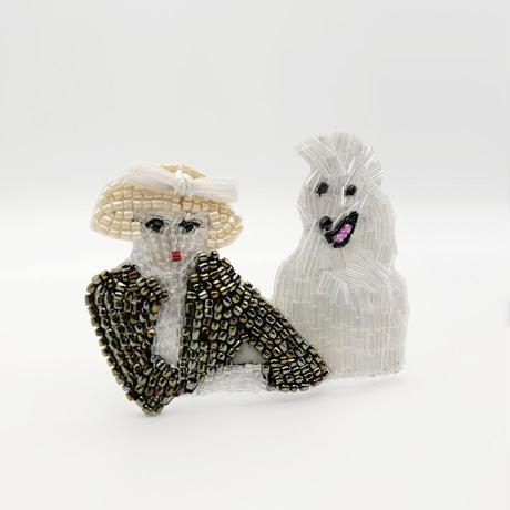 【marianne batlle】 AVEDON PHOTO Women & Dog