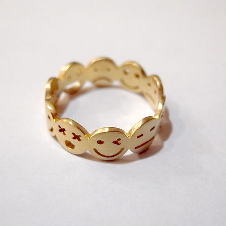 【KOMI】10 smiles ring Lサイズ