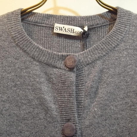 【SALE 40%OFF】SWASH CLASSIC FIT KNIT CARDIGAN managerie midnight polka