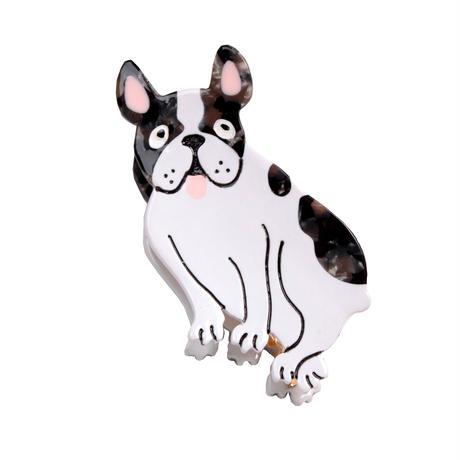 Bulldog ヘアクリップ from Paris