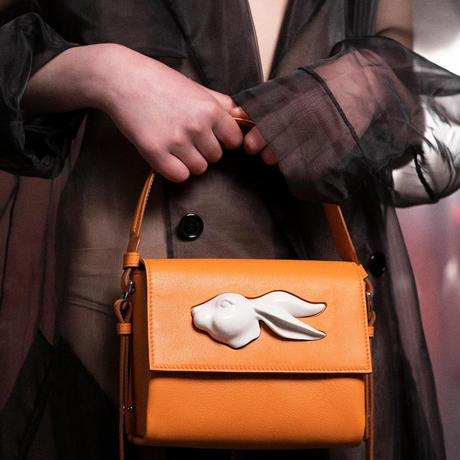 【ANDRESGALLARDO】 FLAP RABBIT HEAD BAG マルチ