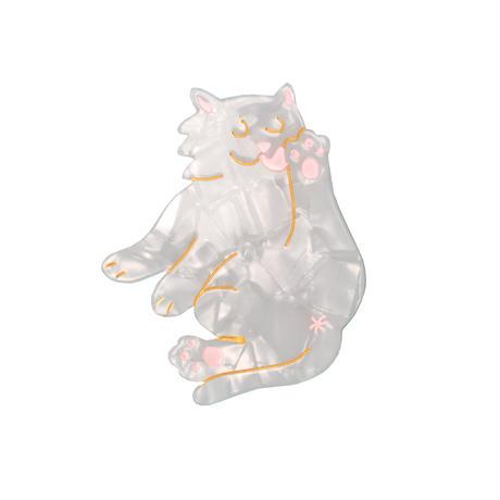 Cat ヘアクリップ from Paris