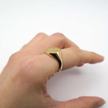 【BONVO】Signet ring ゴールド