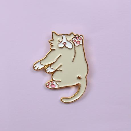 Flexible Cat ピンブローチ from Paris