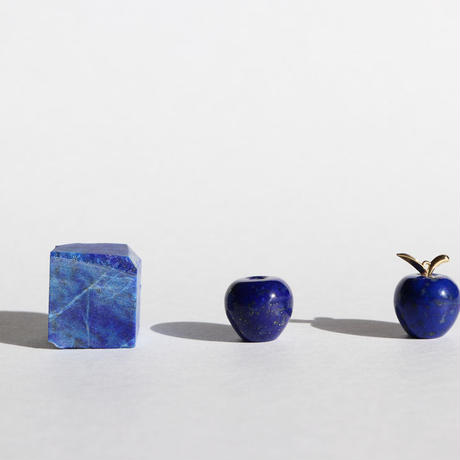 【KOMI】青リンゴ ラピスラズリK18ネックレス