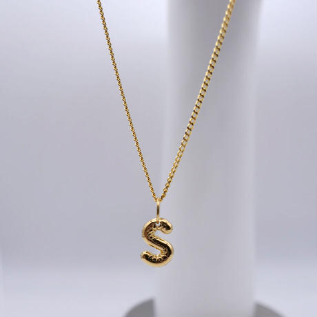 【Vibe Harsloef】Letter ネックレス 42cm