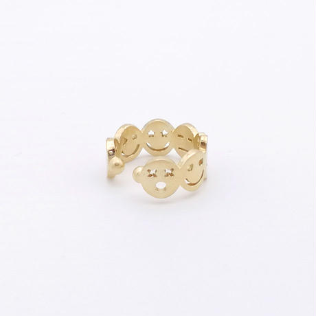 【KOMI】スマイル ダイヤイヤカフ(片耳)