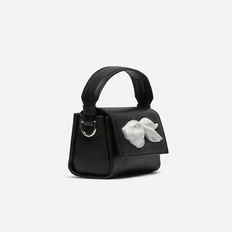 【ANDRESGALLARDO】 FLAP MINI RABBIT HEAD BAG ブラック