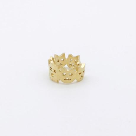 【KOMI】6匹ネコ ダイヤイヤカフ(片耳)