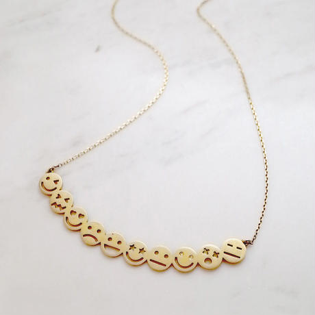【KOMI】10 smiles Necklace
