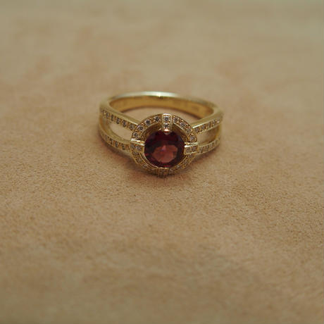 Rhodlite Garnet Ring (Regalia)