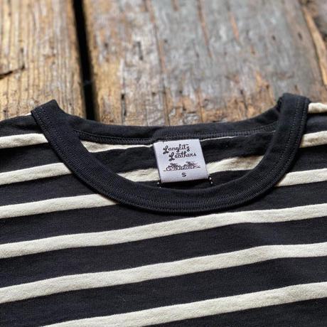 Langlitz Leathers / Border Short Sleeve T-shirt(Type-O)