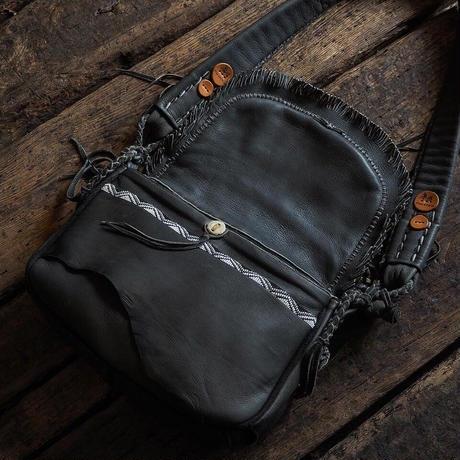 梟唄OWLSONG / DEER LEATHER SHOULDER BAG (GR Specialorder)