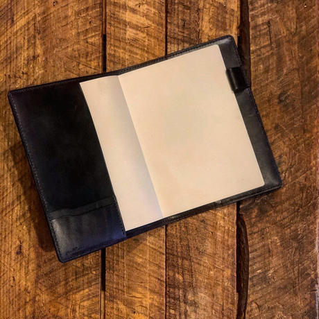 DEER HORN SMITHS Leather / C-NOTE BOOK COVER(A5)