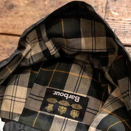 Barbour / Waxed Cotton Hood
