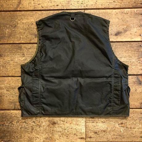 BiburyCourt / Waxed cotton fishing vest