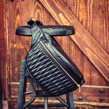 BACK DROP Leathers / DIA WAISTBAG