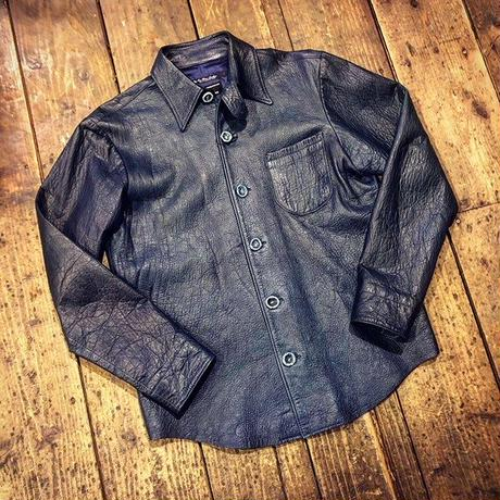 DEER HORN SMITH'S / EZO DEER LEATHER SHIRT