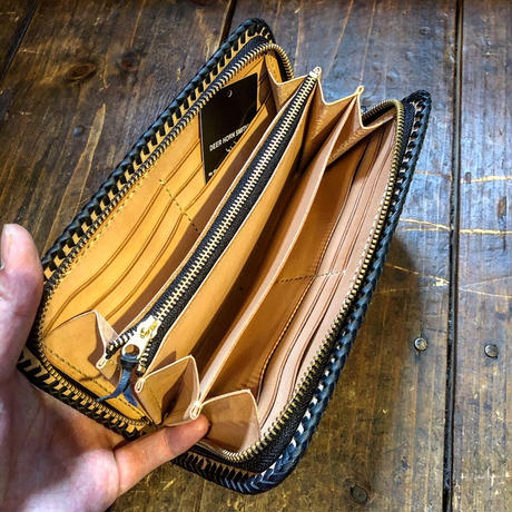 DEER HORN SMITH'S / CS-FULLZIP WALLET