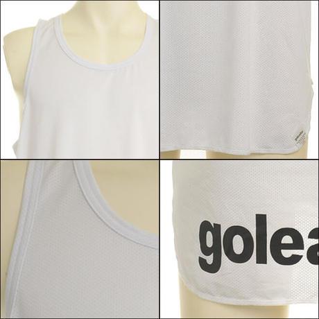 ノースリーブロングメッシュシャツ G-2356