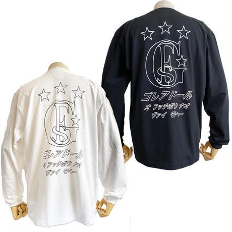 限定  カタカナ ロゴ ビック ロングTシャツ    OM-253(K)