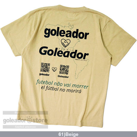 南米サッカーサイトGoleador コラボTシャツ