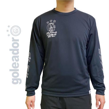 限定  カタカナ ロゴ プラクティス  ロングTシャツ     OM-255