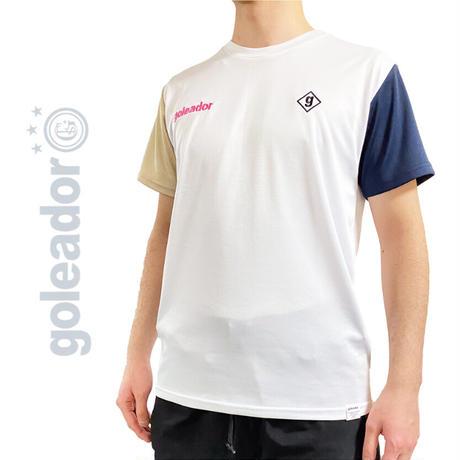 クレイジー パターン プラ Tシャツ F-299