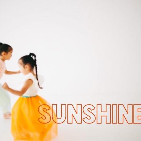SUN shine orange カラーウエスト切替えチュールSK