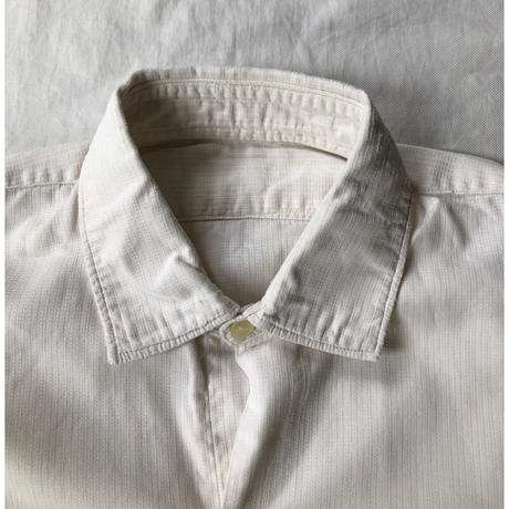 "40's French Farmer's ""Holiday Shirt"" Old Pattern Exellent Condition/1"