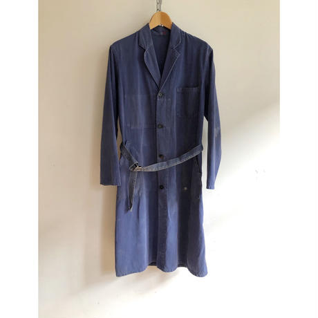 "40's French Work Coat Made by ""Adolphe Lafont"""