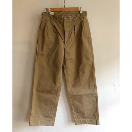 """50's French Army Chino Trousers """"43"""""""