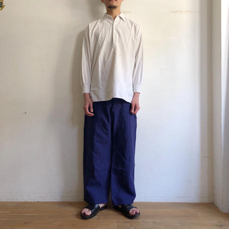 30's〜40's French Farmers Smock With Selvage
